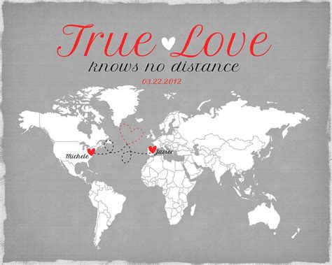 images of love distance long distance relationship valentines day gift by