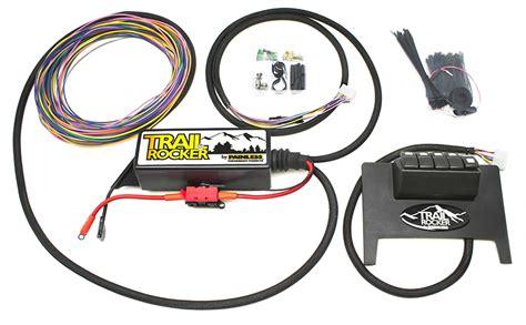 jeep wrangler jk trail rocker accessory control system black dash painless performance