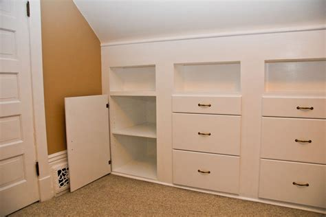 quilt room built in cabinets traditional storage and