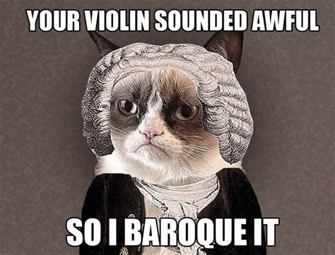 Classical Music Memes - grumpy cat classical music meme hilarious quotes jokes