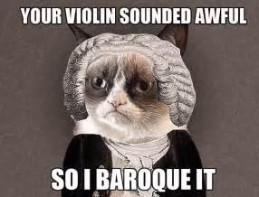 Classical Music Memes - grumpy cat classical music meme hilarious quotes jokes