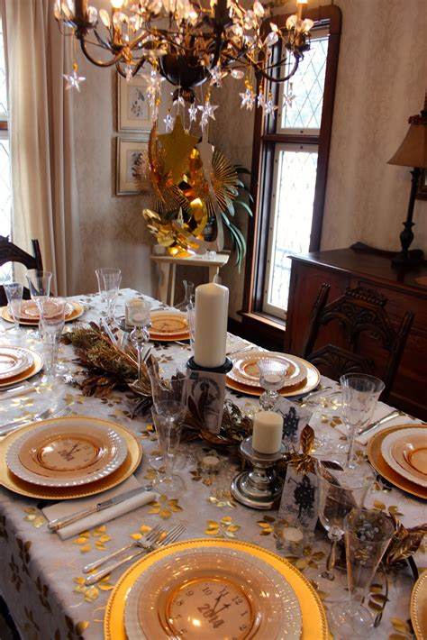 new year dinner decorations dining room celebrating new year 2018 in your