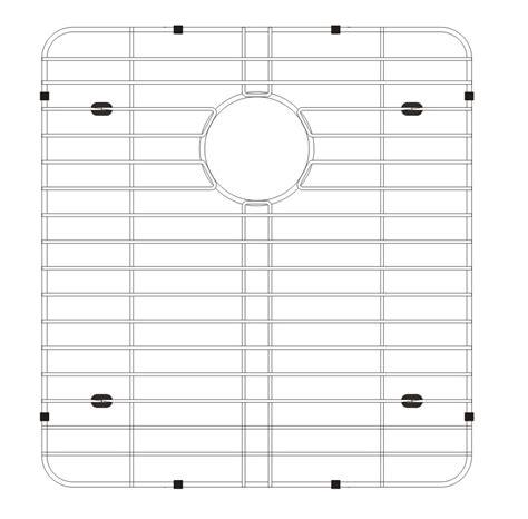 Grid Kitchen by Lenova Gad3b Stainless Steel Kitchen Sink Grid