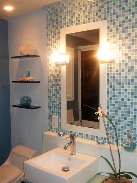 backsplash bathroom trend glass tile backsplash in bathroom best design ideas