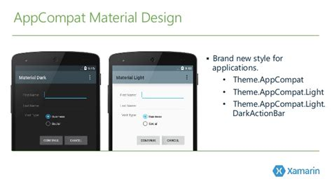 eclipse theme appcompat light android lollipop and material design