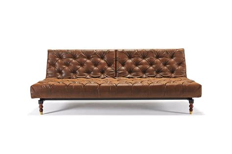 the sofa bed store oldschool chesterfield vintage brown sofa bed retro legs