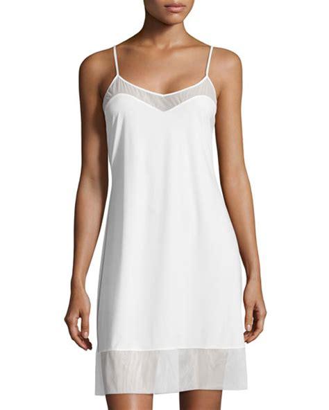 Josie White Knit josie natori sleek boudoir chemise warm white