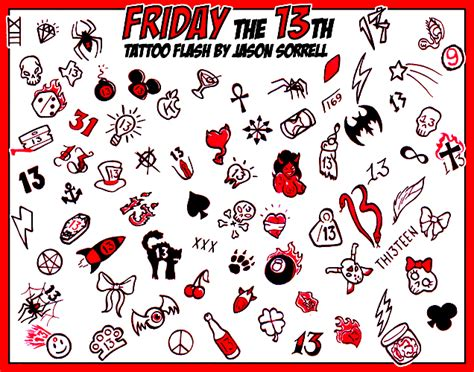 friday the 13th tattoos special friday the 13th specials what you