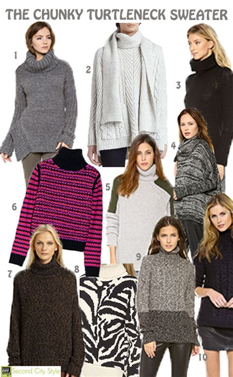 Trends To Avoid The Top Second City Style Fashion 2 2 by Fall 2013 Fashion Trend The Chunky Turtleneck Sweater