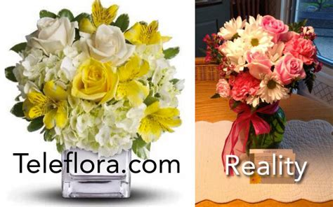 Here's Why Florists' Websites And Reality Will Never Match ... 1 800 Flowers Reviews Vs Ftd