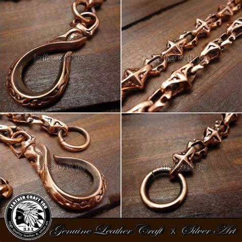 Jaden Leather Card Wallet Copper craft you rakuten global market wallet chain copper