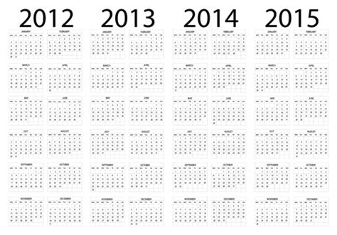 5 Year Calendar 2013 To 2018 Search Results For Calendar 2013 Template Blank Page 2