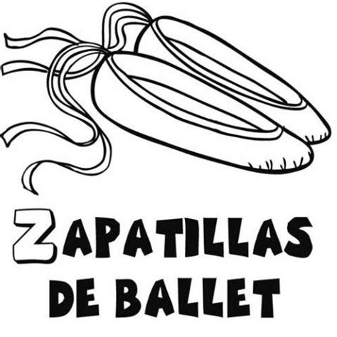 dibujos para colorear zapatillas de ballet zapatillas de ballet dibujos para colorear