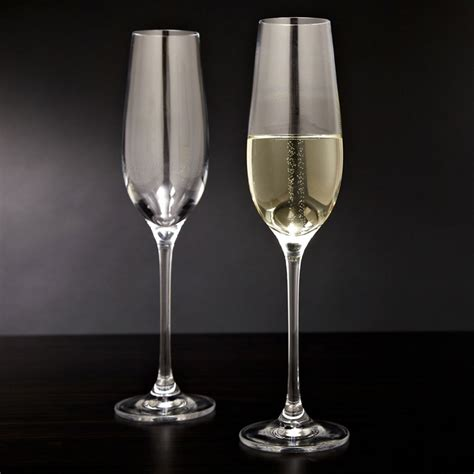 Forever Bubbling Champagne Flutes   The Green Head