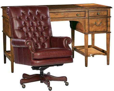 hekman office furniture hekman office set w leather top leg desk he 71111 set
