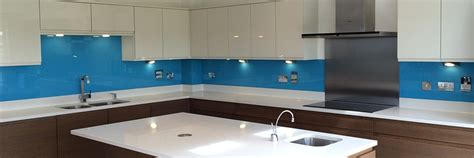 Kitchens Designs bespoke glass splashbacks coventry available in any colour