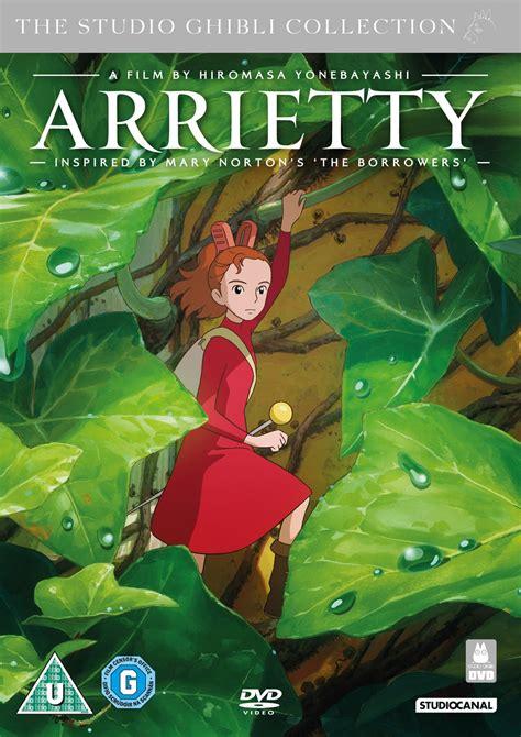 studio ghibli film arrietty cinehouse studio ghibli s arrietty dvd blu ray details