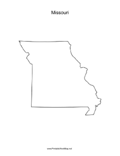 missouri blank map missouri blank map picture to pin on thepinsta