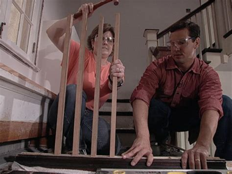 Attaching Balusters To Handrail how to build staircase balusters and newel posts how tos diy