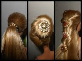 How to make doll hairstyle and clean your doll hair and make straight