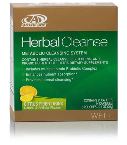 Best Detox System 2015 by Buy Advocare 174 Herbal Cleanse System Rid Your Of Toxins