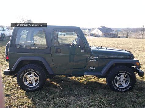 2000 Jeep Wrangler Top 2000 Jeep Wrangler Sport Top