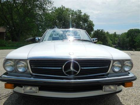 how cars run 1987 mercedes benz sl class parental controls sell used 1987 mercedes benz 500sl euro in hartland wisconsin united states
