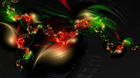 christmas wallpaper abstract abstract art in christmas red and green wallpaper walltor