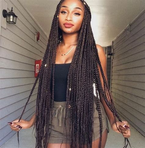 Different Hairstyles For Box Braids by Box Braids Hairstyles Hairstyles With Box Braids