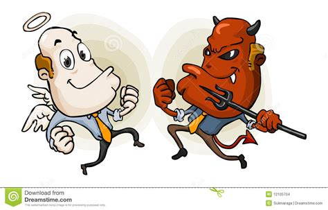 Choice Of Evil choice between and evil stock images image 12105704