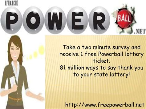 free powerball lottery