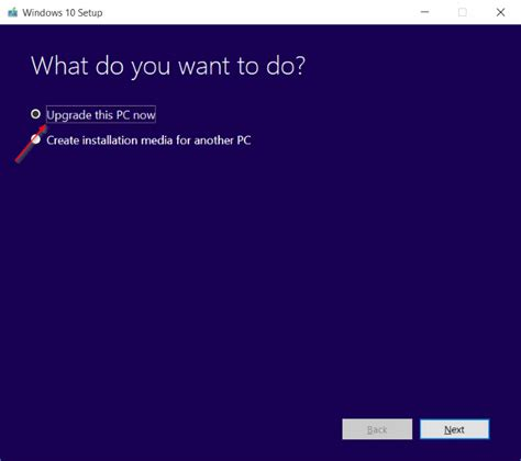 install windows 10 right away how to install windows 10 november update right now