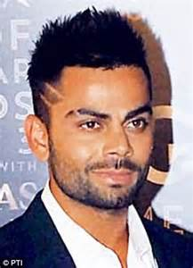 hairstyles of indian cricketers dhoni starts a mohawk trend hair raising style sweeps