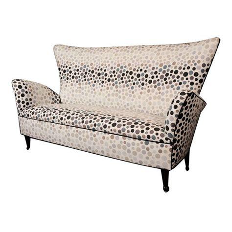 petite sofas sculptural high back petite sofa at 1stdibs