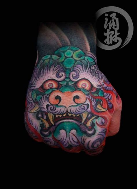 japanese hand tattoo designs 17 best images about foo on foo