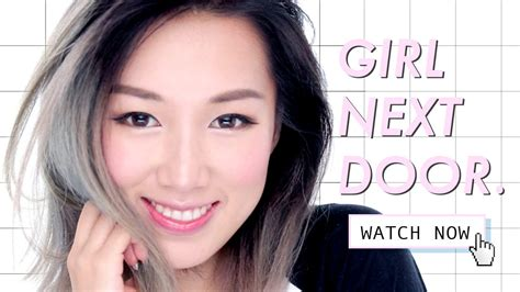 everyday makeup tutorial korean i am a girl next door feat befine youtube