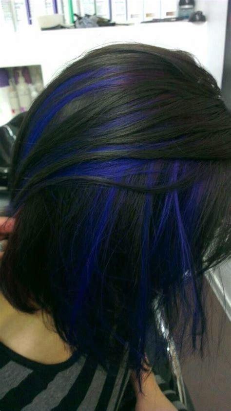 how to dye hair dark underneath 17 best ideas about blue hair underneath on pinterest