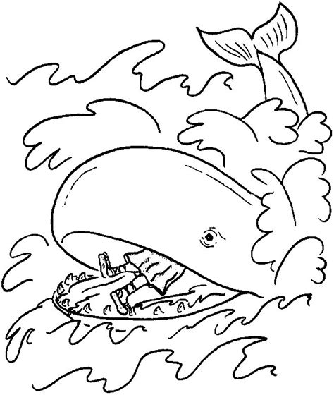 coloring page jonah jonah and the whale coloring page az coloring pages