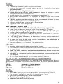 storekeeper resume example resumes design