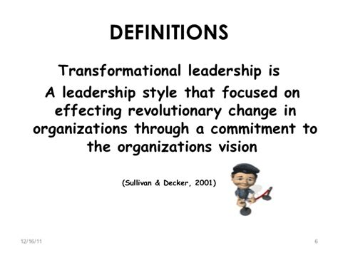 Le Résumé Definition Transformational Leadership Transactional Leadership Interpersonal Le