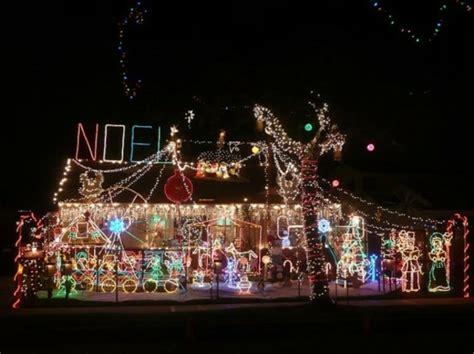 best christmas decor houses edmonton belles maisons avec d 233 coration lumineuse ext 233 rieure no 235 l