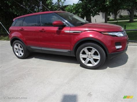 red land rover old 2014 firenze red metallic land rover range rover evoque