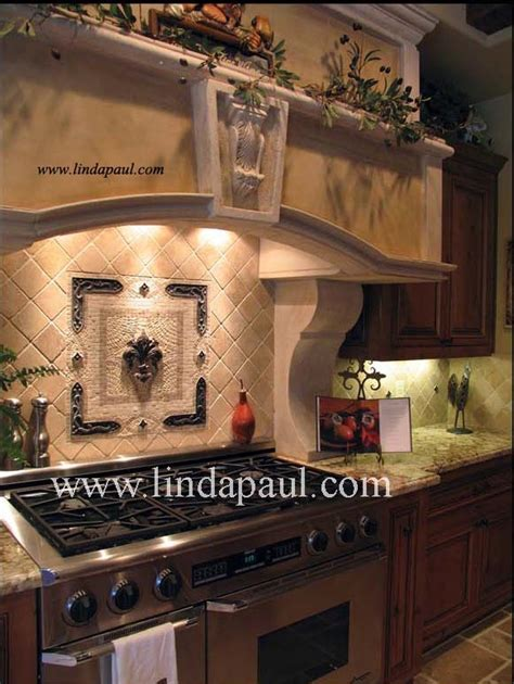 kitchen backsplash medallions fleur de lis backsplash tile mosaic medallion mosaics