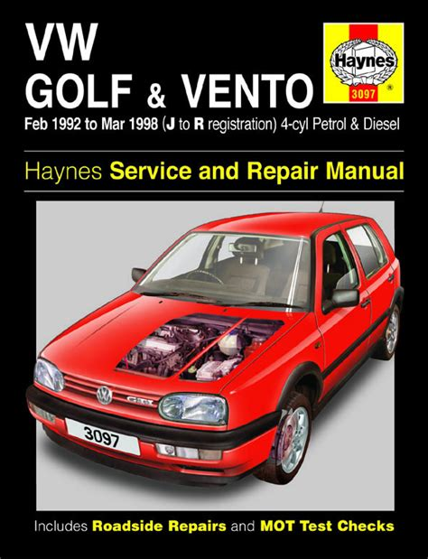 car repair manuals online free 1998 volkswagen golf interior lighting haynes manual vw golf vento petrol diesel 92 98