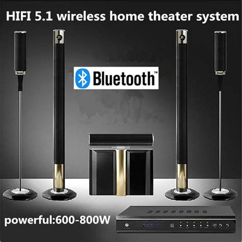 brand new 5 1 wireless home theater system 800w cinema