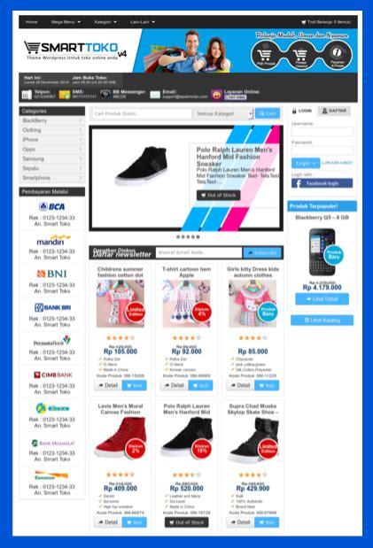 free download themes toko online jual theme toko online wordpress download beli