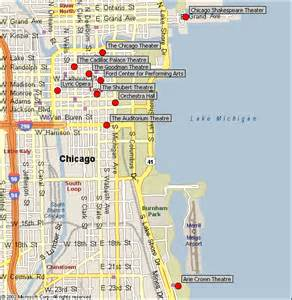 Street Map Of Downtown Chicago by Chicago Map The Loop