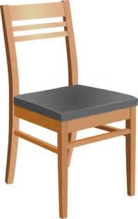 Wooden chair clip art at clker com vector clip art