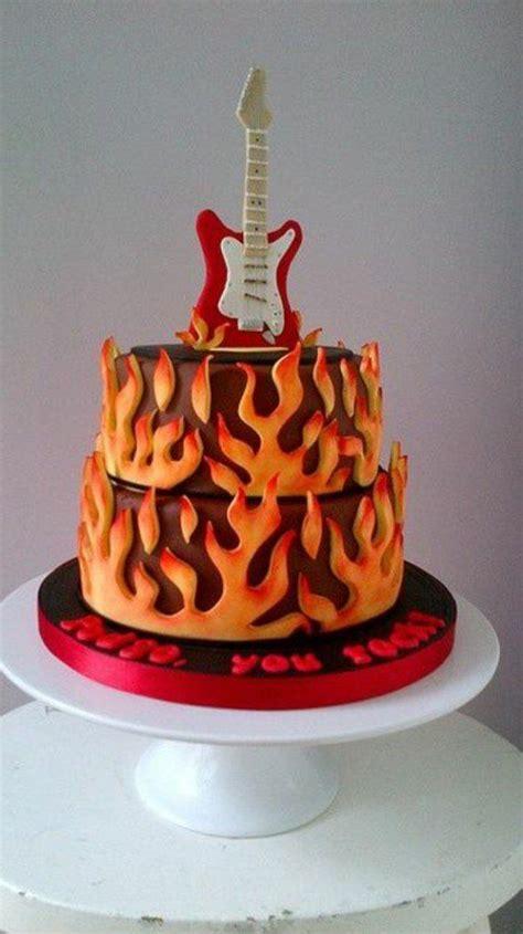 musik hochzeit die besten 17 ideen zu gitarren kuchen auf