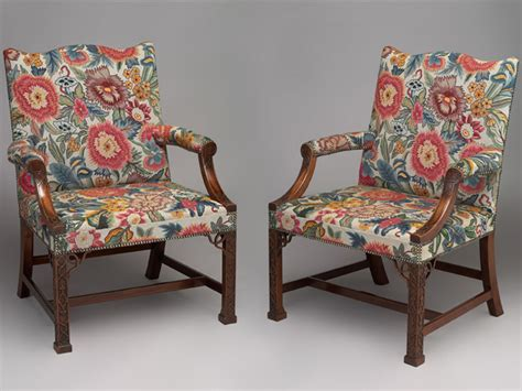 Hawkins Furniture by Hawkins Furniture Commissions Pair Of Gainsborough Chairs Upholstered In Tapestry Of Client